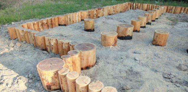 Фундамент для сарая: из покрышек, на сваях, из блоков и другие виды, простой фундамент под хозблок своими руками по пошаговой инструкции
