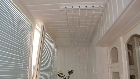 Сушилка для белья потолочная на балкон. обзор вариантов
