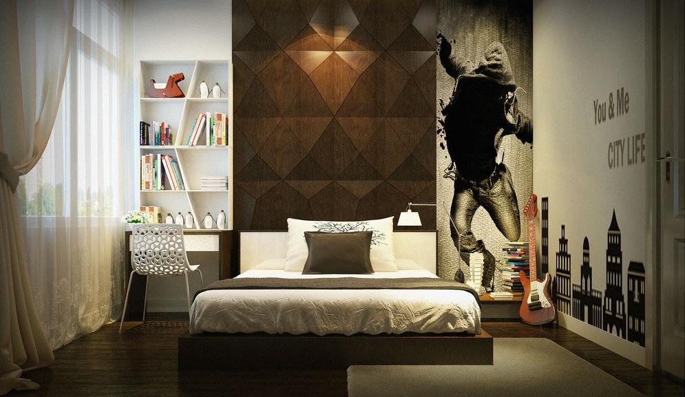Дизайн однокомнатной квартиры для молодого мужчины +75 фото