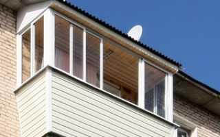 Остекление балконов: виды и этапы работ