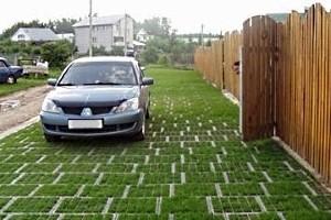Как укладывать газонную решетку: монтаж экопарковки своими руками