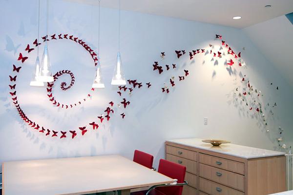 Декор стен своими руками: оригинальные идеи, фото, тренды 2020