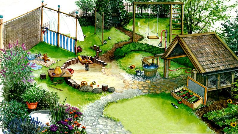 детская площадка для дома