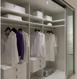 Гардеробная в спальне: 10 идей по воплощению проекта