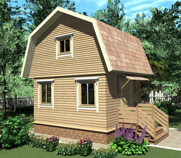 сколько стоит построить дачный дом