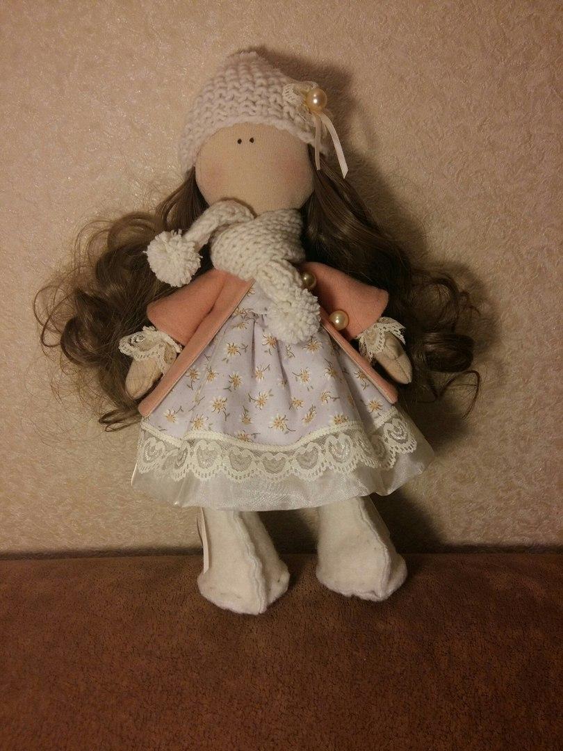 Шьем красивые куклы своими руками