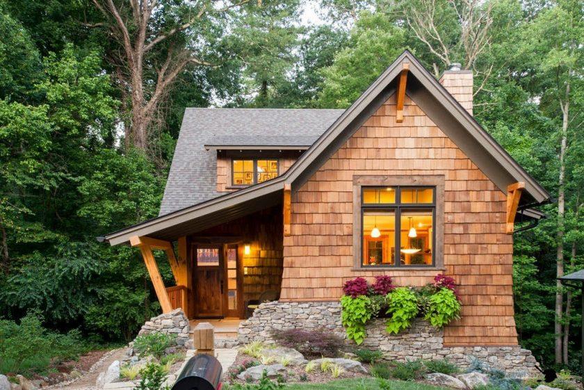 летний домик для дачи