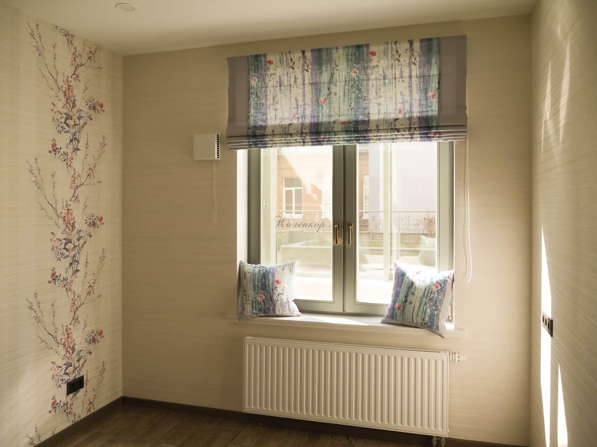 Как замерить шторы на окно: длина и ширина штор