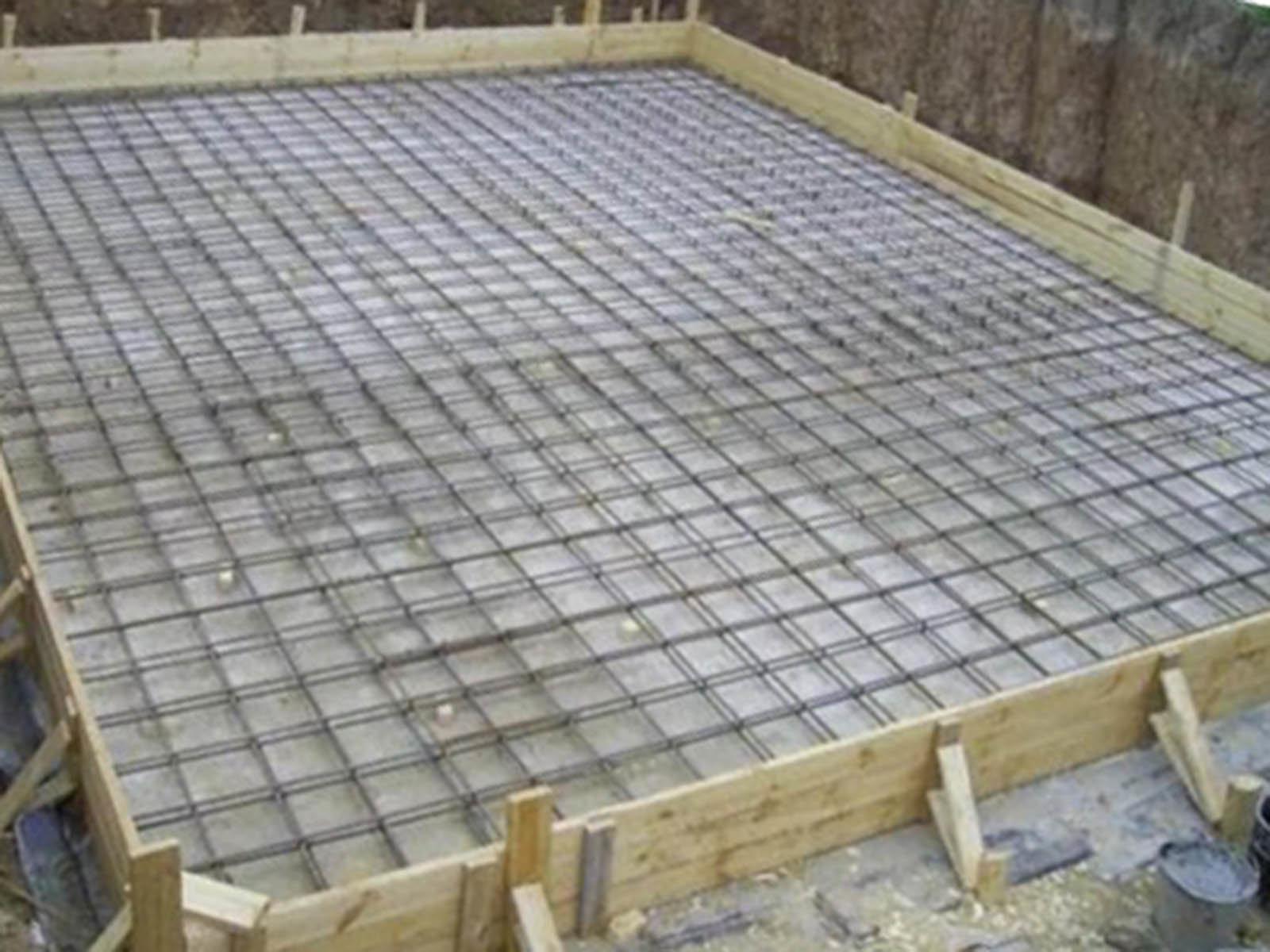 Возведение фундамента под террасу - блог о строительстве