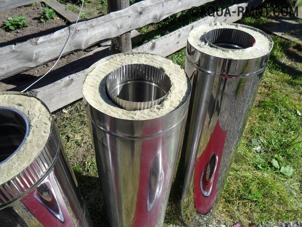Какая труба лучше для дымохода: черные металлические, какую трубу поставить, из черного металла, какие можно использовать