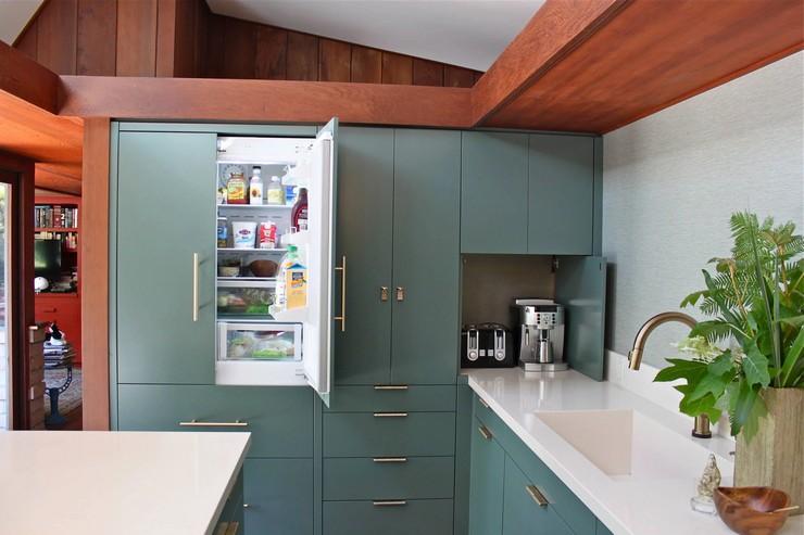 Шкаф под холодильник: правила выбора, особенности конструкции