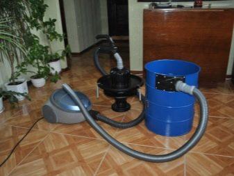 Строительный пылесос своими руками: из бытового пылесоса или из подручных средств