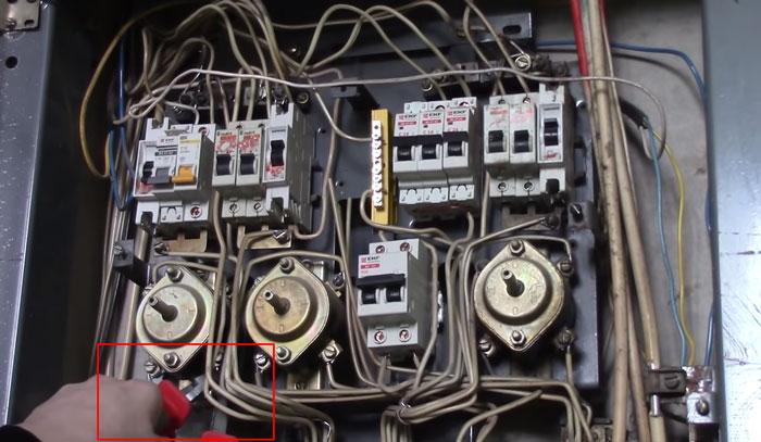Замена автоматического выключателя
