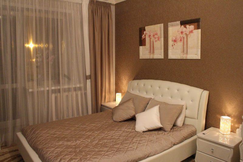 Интерьер спальни в светлых тонах – фото дизайна светлой комнаты