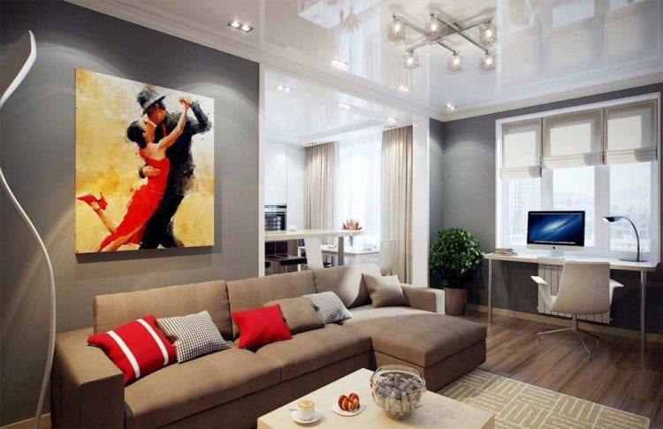 Развешанные картины: как красиво повесить в зале над диваном, модные составные картины для интерьера в современном стиле