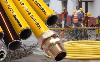 Диаметр газовой трубы в квартире или доме: низкого и высокого давления, нормы для диаметров газовых труб