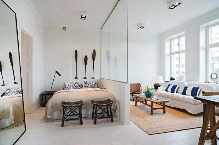 Дизайн двухкомнатной квартиры — фото современных проектов