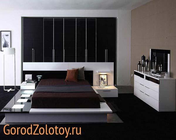 оформление спальни в квартире фото