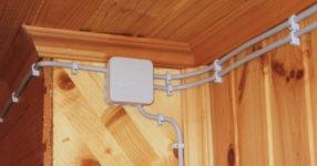 Открытая и закрытая прокладка кабеля снаружи и внутри помещений, правила и способы монтажа