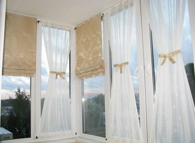 Шторы на балкон своими руками (28 фото): как сделать и повесить тюль без карниза, образцы
