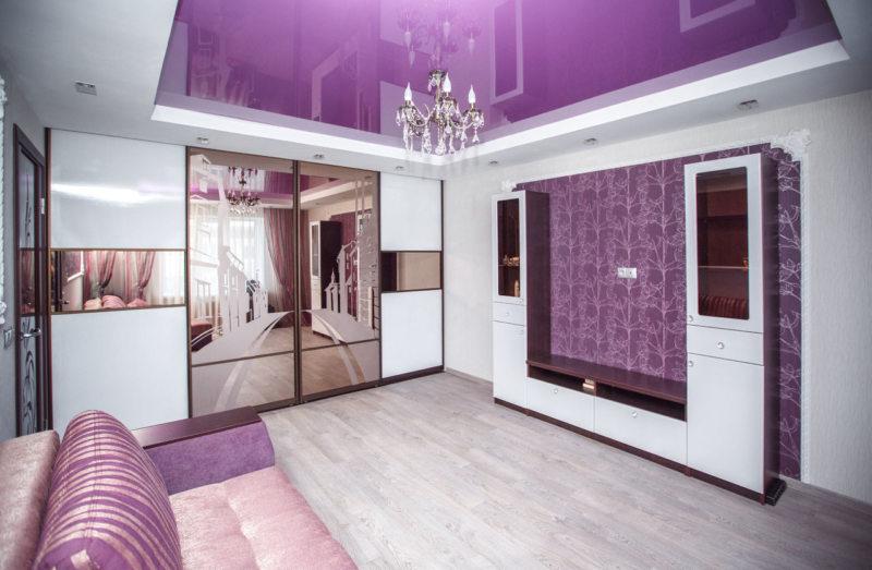 Спальня в сиреневых тонах: фото и видео с примерами оформления