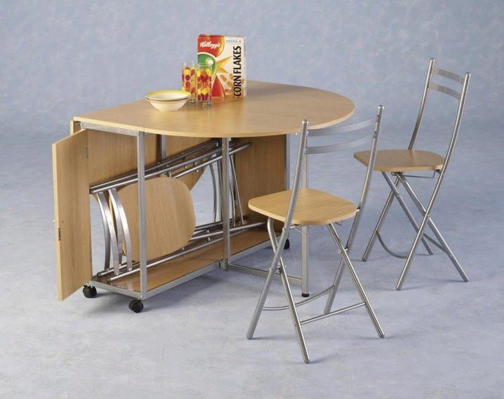 Кухонные столы для маленькой кухни: какой стол и стулья выбрать для малогабаритной кухни