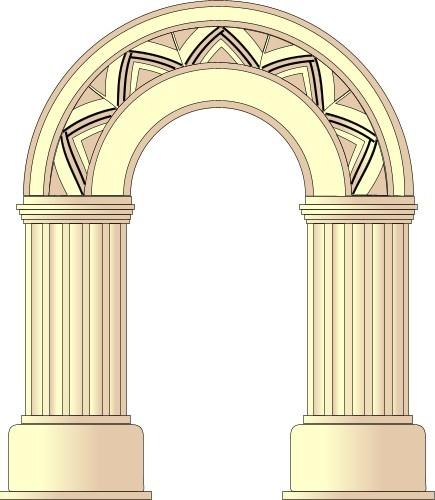 арка на дверной проем