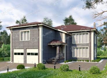 Современные дома из клееного бруса