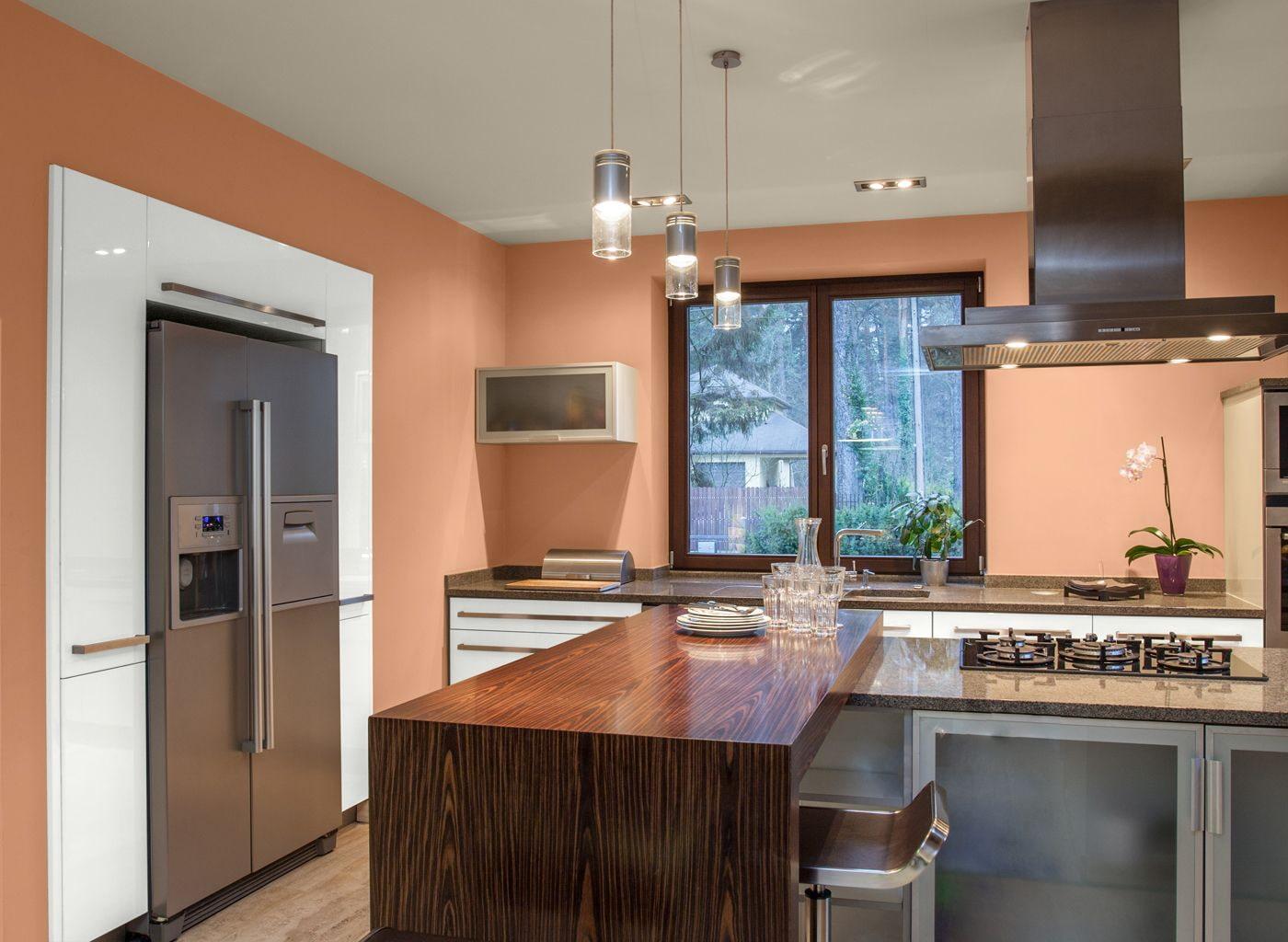 Коричневая кухня в интерьере - 65 фото и 7 дизайн-секретов