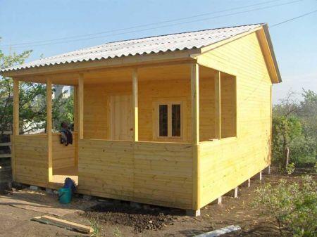 небольшие каркасные дома