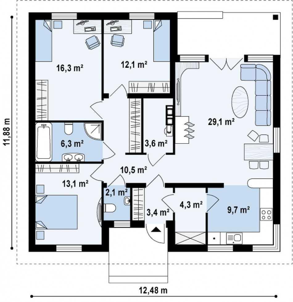 Планировка квартиры – лучшие проекты и базовые сочетания современного дизайна 2019-2020 (125 фото)
