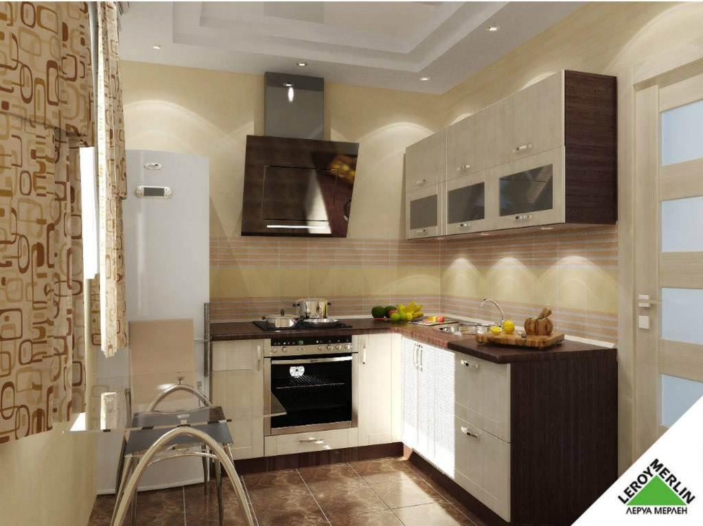 леруа мерлен дизайн проект кухни