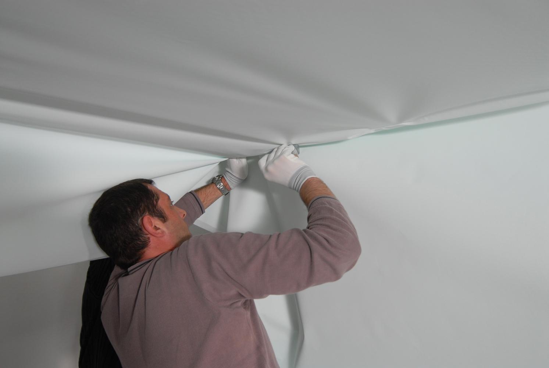Как снять натяжной потолок своими руками – подробная инструкция