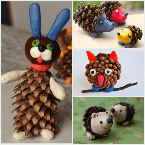 Поделки из шишек на тему осень своими руками: как сделать сову, ежика, топиарий в садик и школу | все о рукоделии