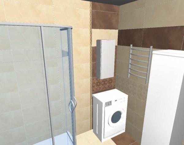 как нарисовать ванную комнату