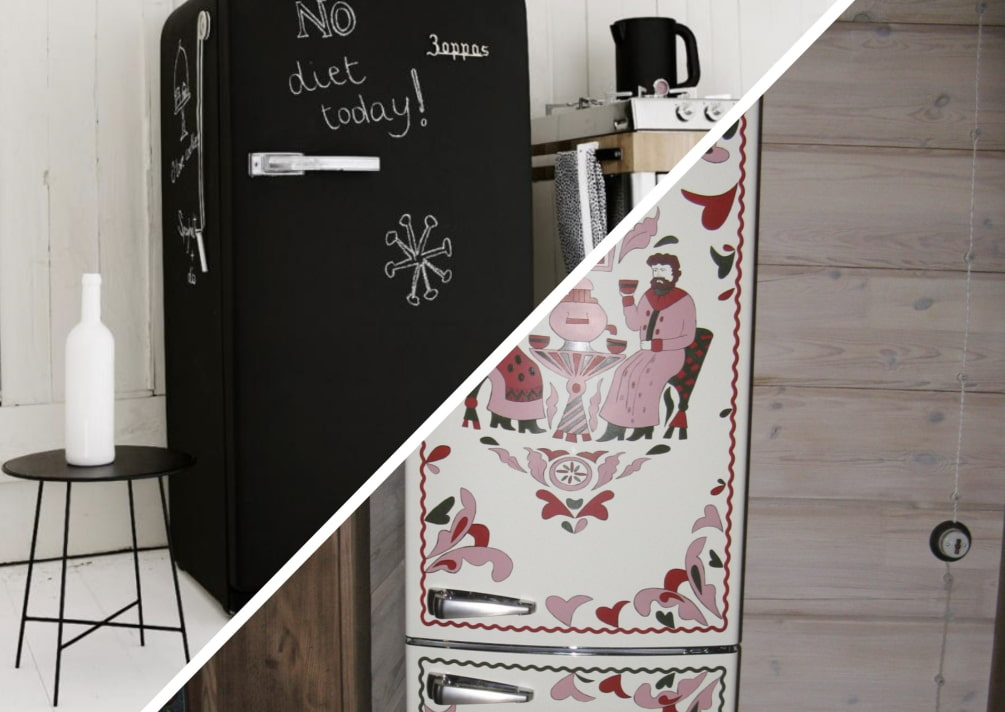 Как покрасить старый холодильник: восстанавливаем внешний вид устройства