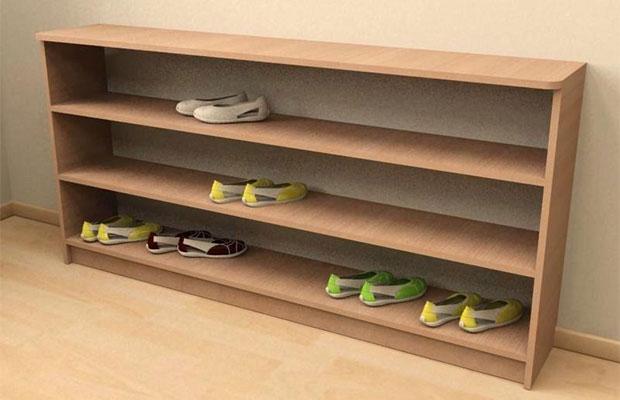 60 магазинных и самодельных идей для обувницы в прихожую с фото