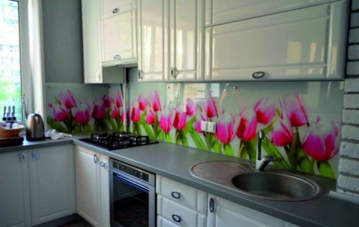 Дизайн фартука для кухни +95 фото идей оформления