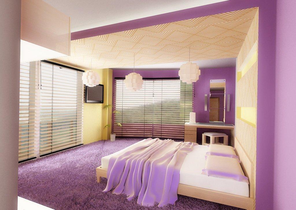 Выбор цвета стен и мебели для маленькой спальни [идеи 2019]