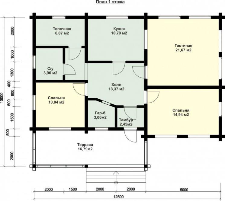 Возможности планировки дома 12 на 12: популярные проекты и выбор подходящего материала