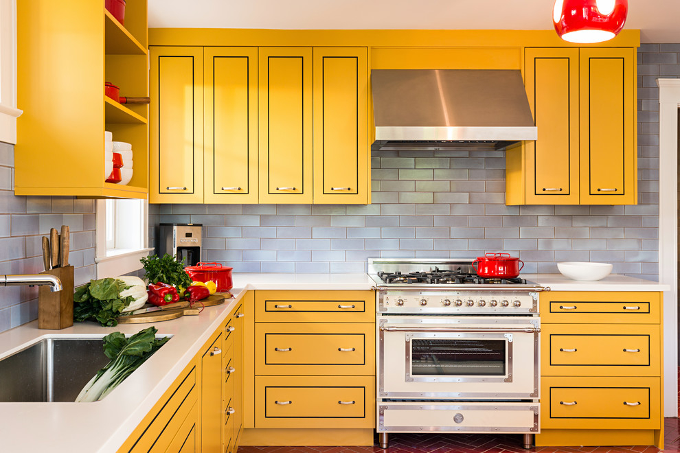 Плитка под кирпич для кухни: виды и особенности укладки, кафель в стиле лофт, декоративный фартук белыми кирпичиками