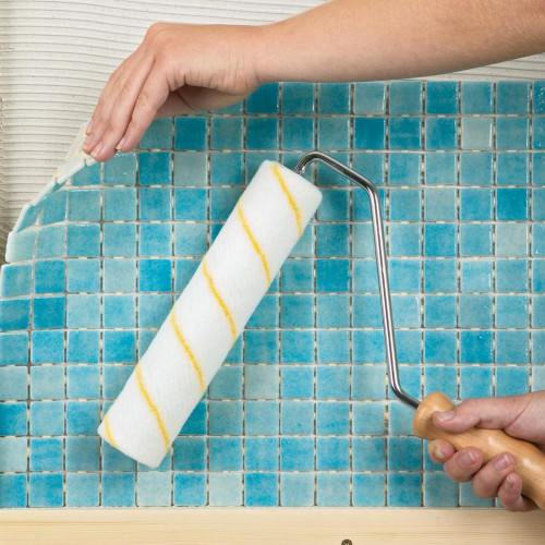 Укладка мозаики в ванной своими руками + мастеркласс от эксперта