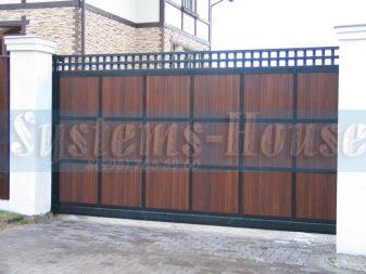 Раздвижные ворота: сущность, плюсы и минусы, конструктивные элементы, технология изготовления, стоимость