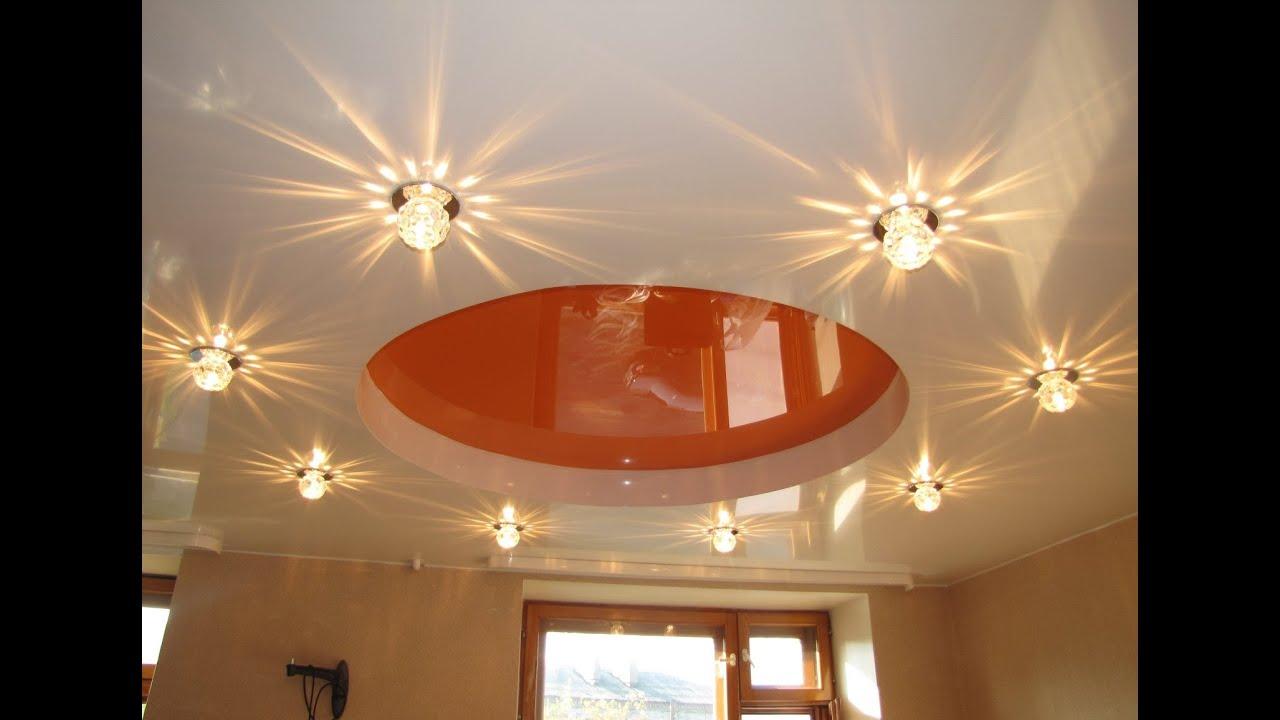 потолочные светильники светодиодные для натяжных потолков