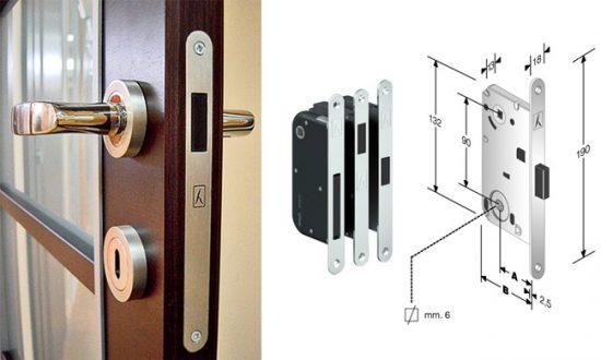 Бесшумные замки для межкомнатных дверей  принцип работы – первый дверной