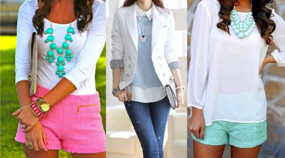Сочетание черного и белого цвета в одежде
