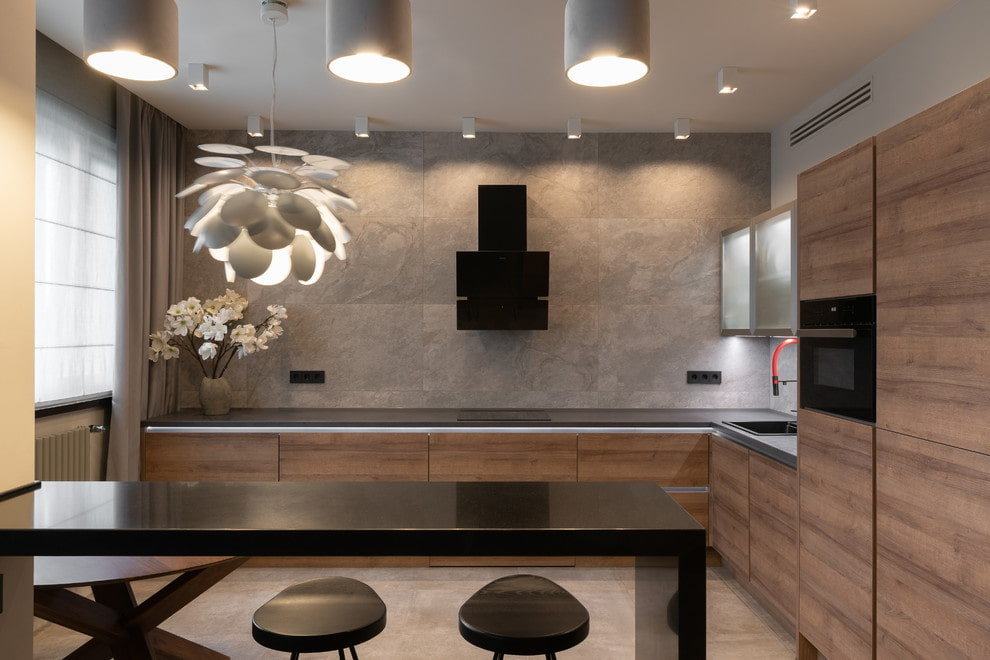Кухни модерн: 120 фото современного, функционального и лаконичного дизайна