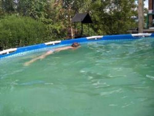 Как сложить бассейн? как правильно убрать большой плавательный бассейн? как складывать?