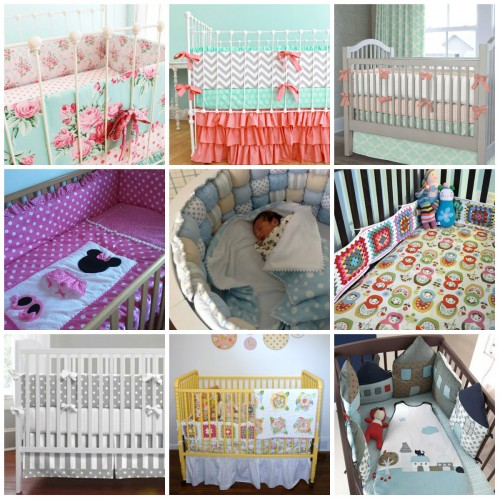 Бортики в кроватку для новорожденных