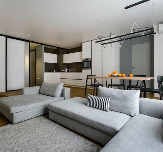 Дизайн двухкомнатной квартиры: 120 лучших интерьеров [2019]